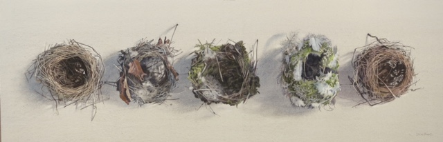 Empty nests by Lillias August