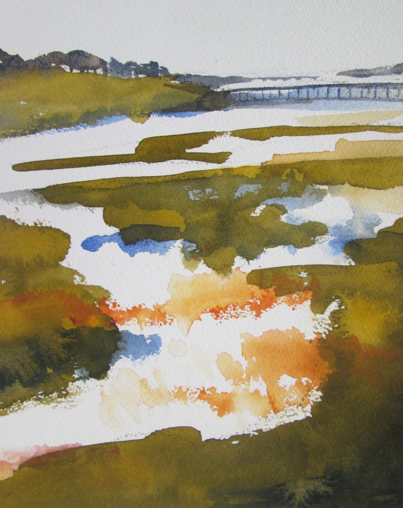 Dazzle at Low Tide by Susan Keeble
