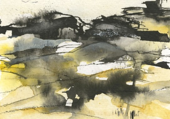 The Tors Dartmoor IV by Penny Newman