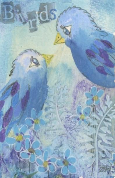 Lovebirds by Caroline Furlong