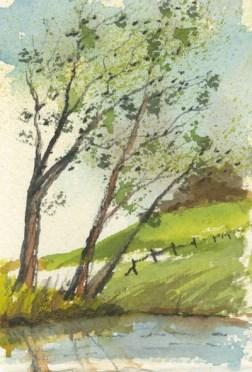 Windy Landscape by Caroline Furlong