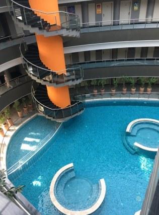 Doğa Termal otel içerisi