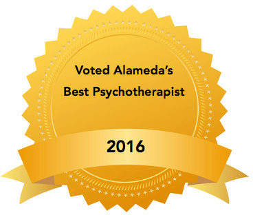 Voted Alameda's Best Psychotherapist 2016