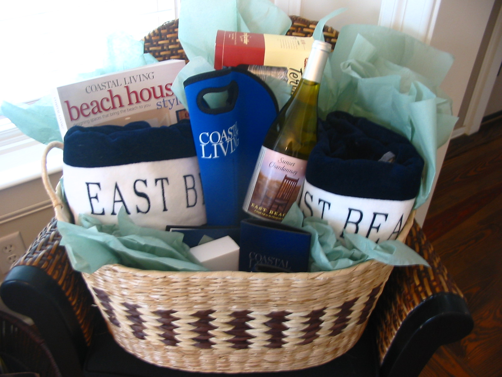 August Coastal Living Ultimate Beach House Gift Basket Winner