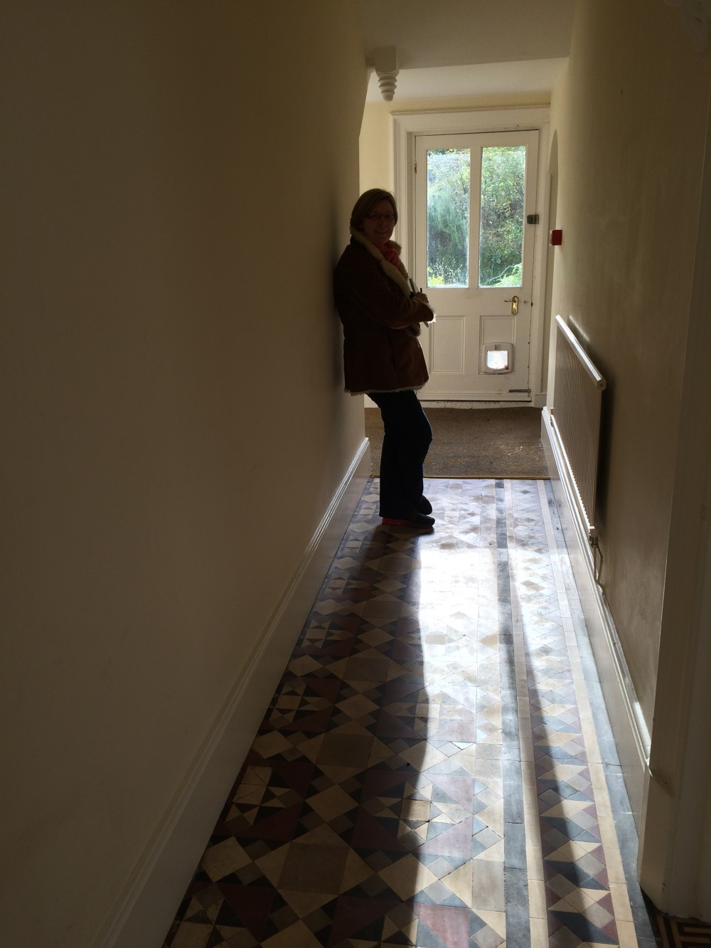 Robin in the hallway | Eastbourne Diary