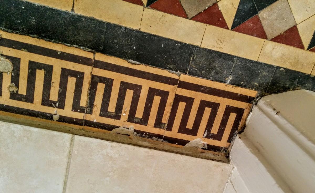 floor tile detail - Eastbourne Diary