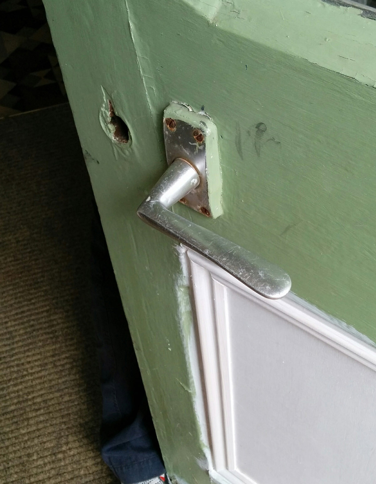 back door old handle