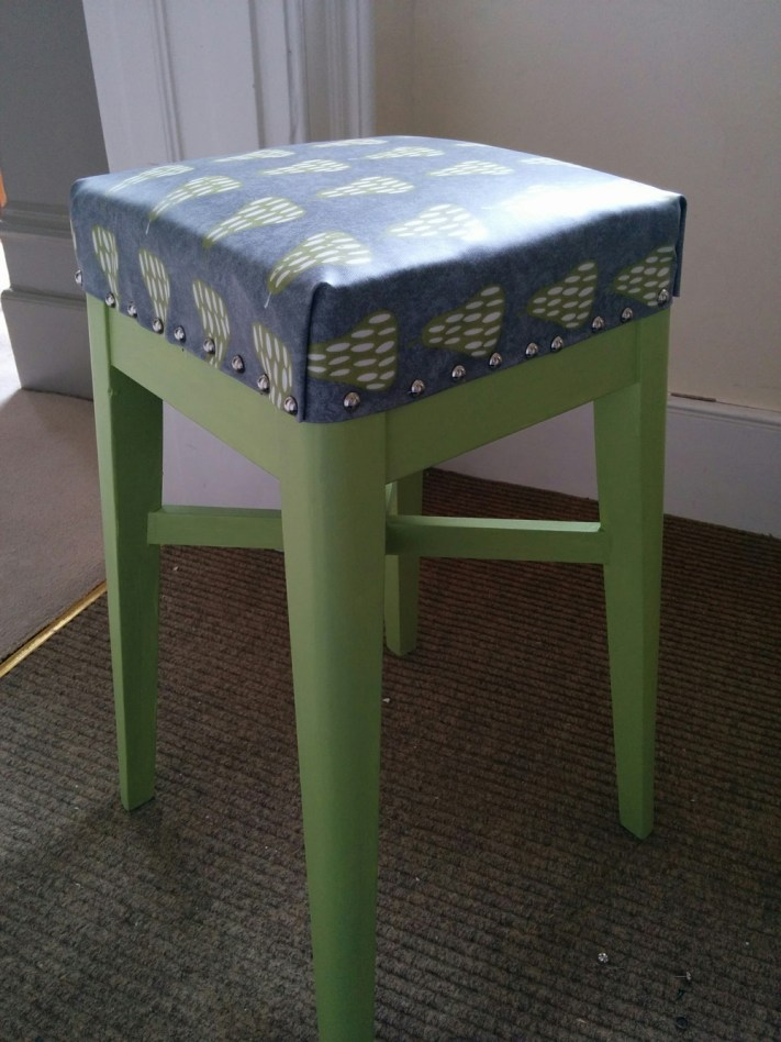 Kitchen stool finished