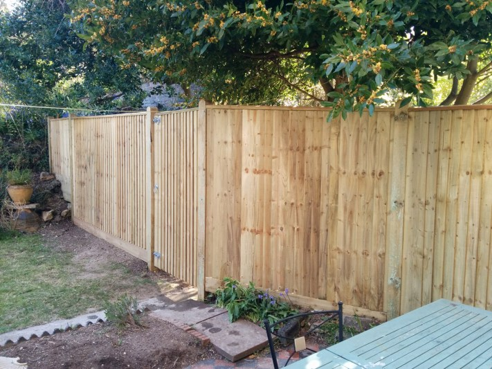 New fence April 2016