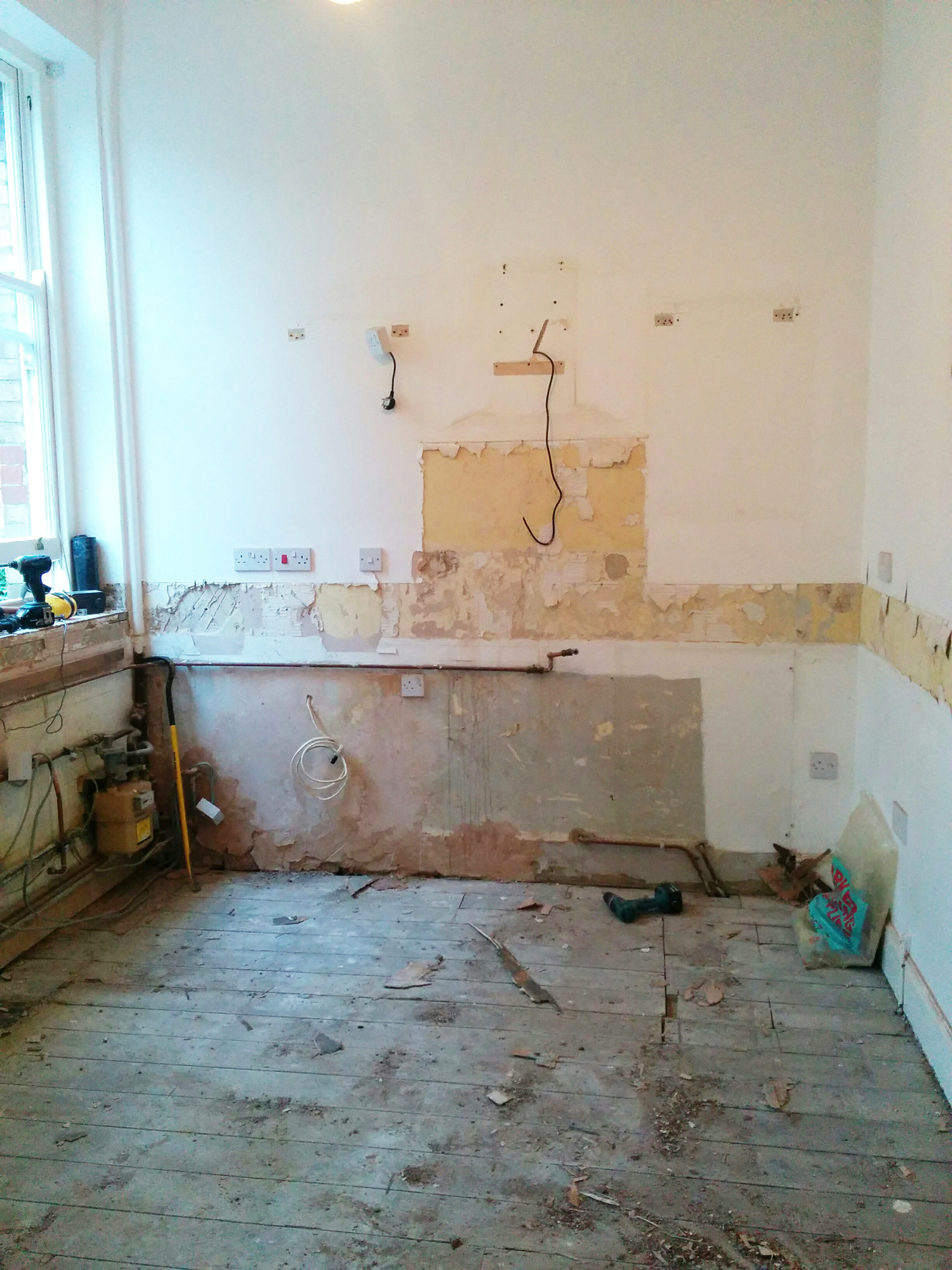 All out! Kitchen reno