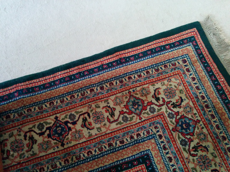 Music room big rug - detail