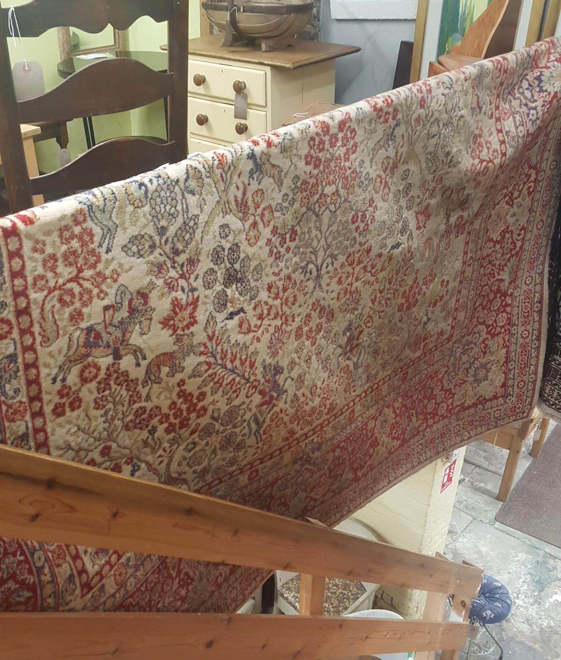 Large rug in shop in Hastings