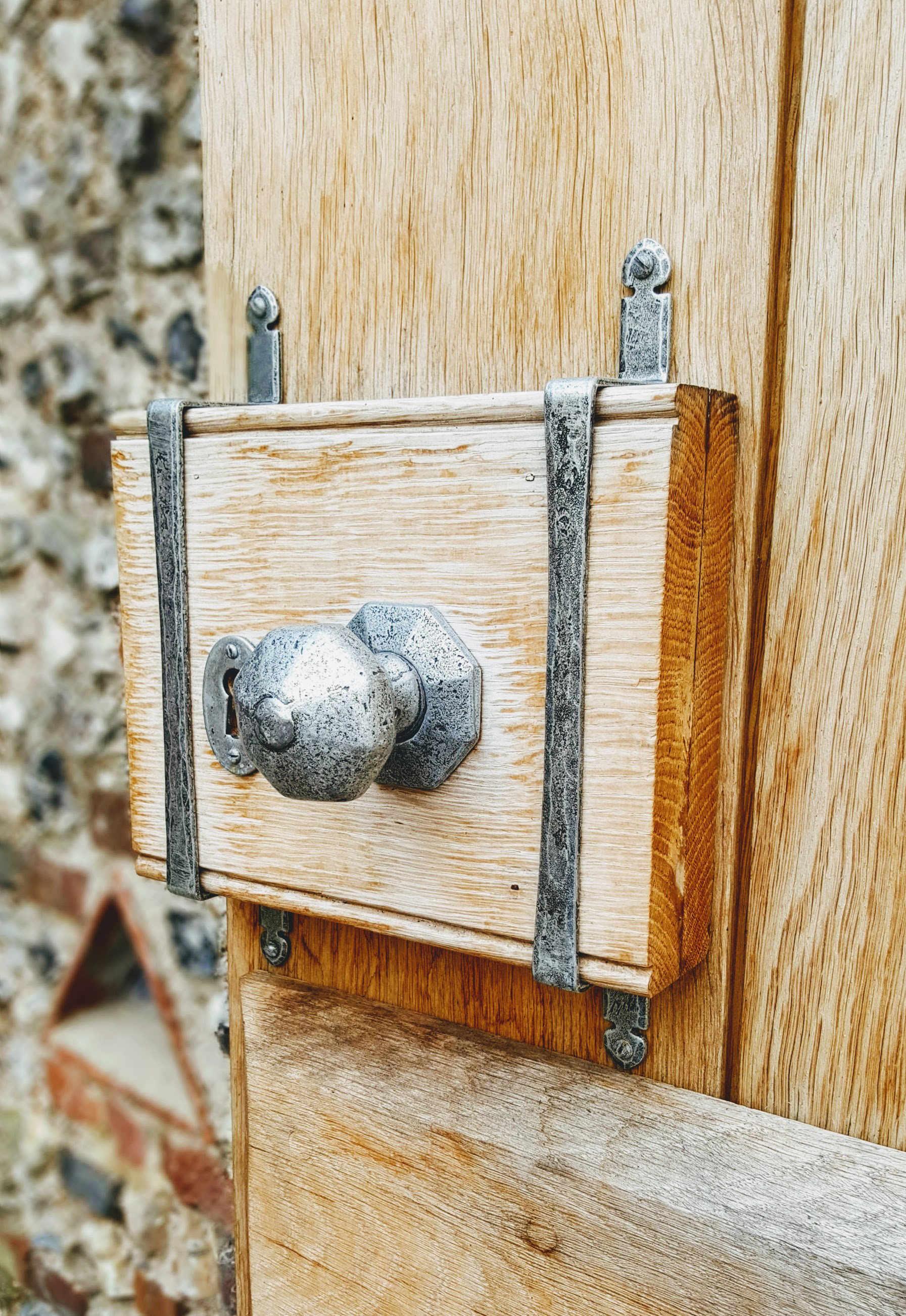 Charleston Barn interior - door handle