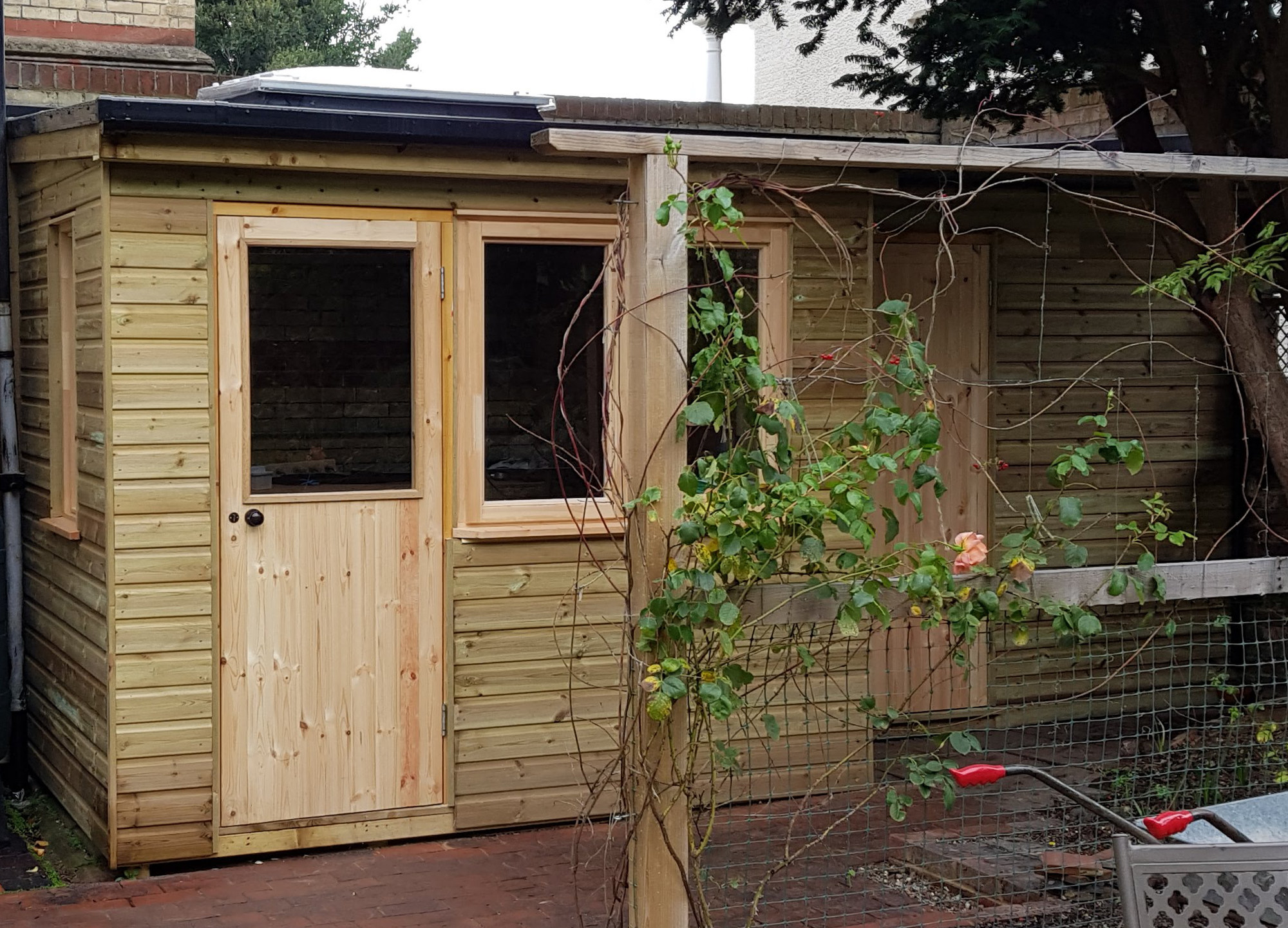 finished structure of sheds