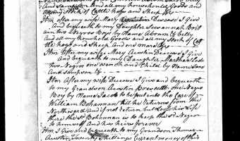 Will of Thomas AUSTIN (1778) – Craven County
