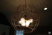 DIY Modern Pendant Light - East Coast Creative Blog