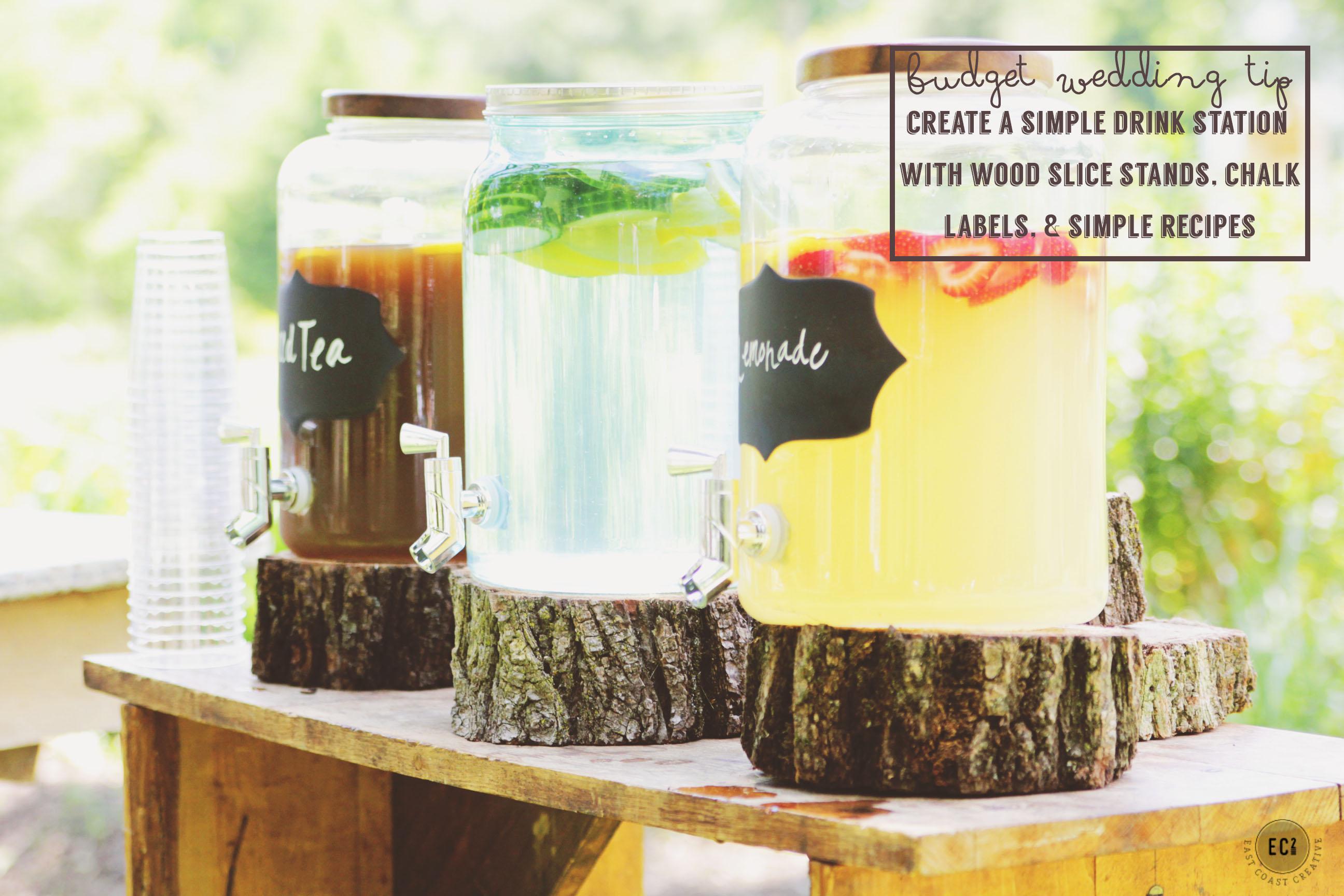 DIY Wedding Tips On A Budget- Vintage Inspired Backyard