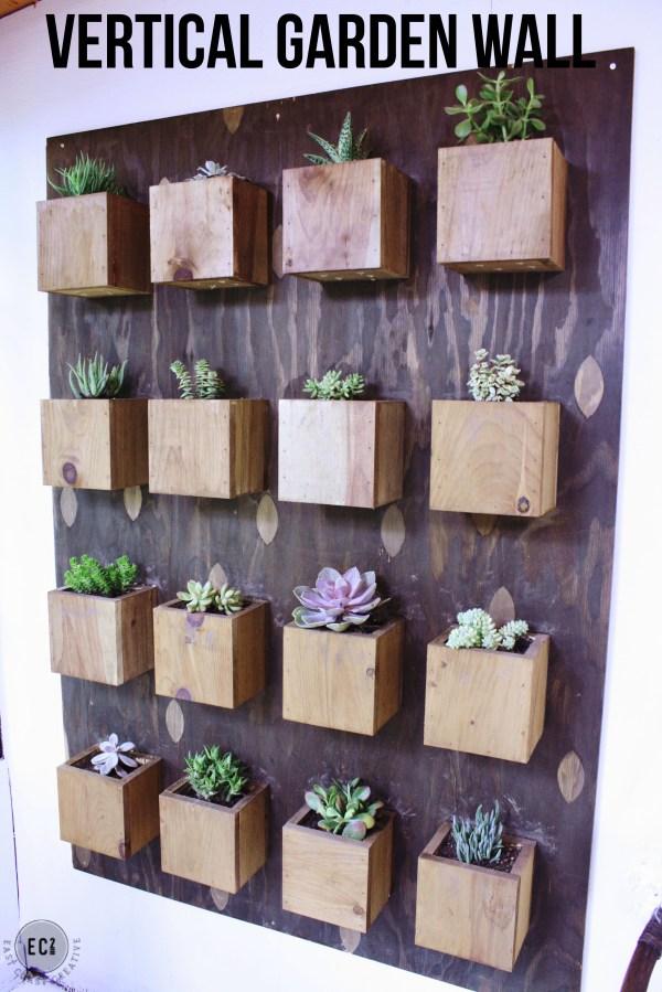 Scrap Wood Wall Art & Make Natural Stains