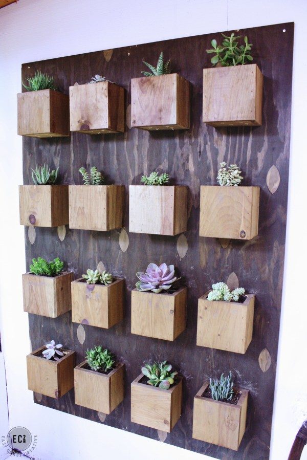 DIY Vertical Garden Wall Planter