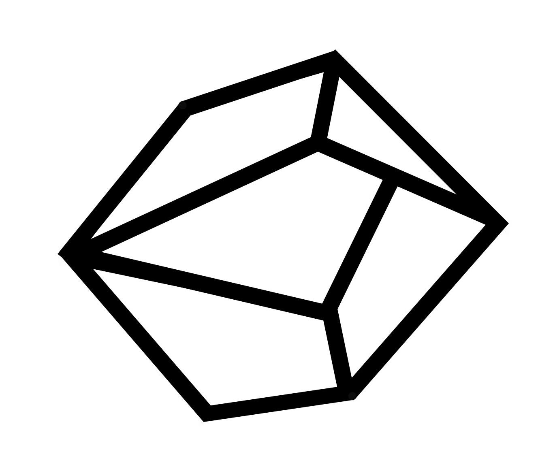 Modern Christmas Ornaments- Geometric Gems