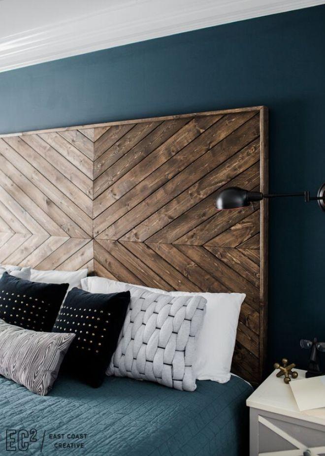 DIY EastCoastCreative Headboard MasterBedroom Pillows