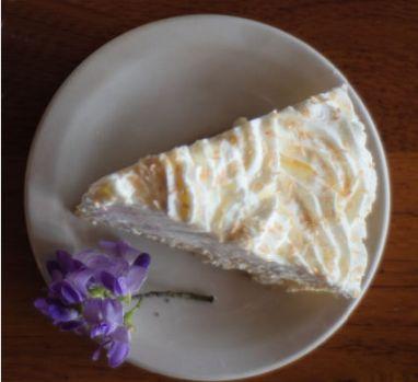 Coconut Creme Dream Pie slice