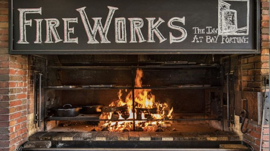 Fire Works Restaurant at Inn at Bay Fortune