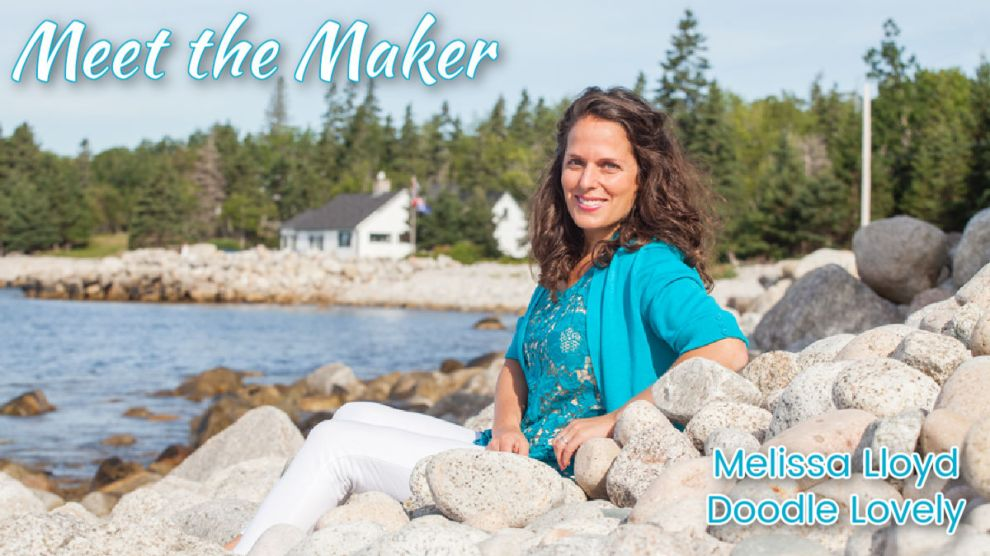 Meet the Maker Melissa Lloyd Doodle Lovely feature