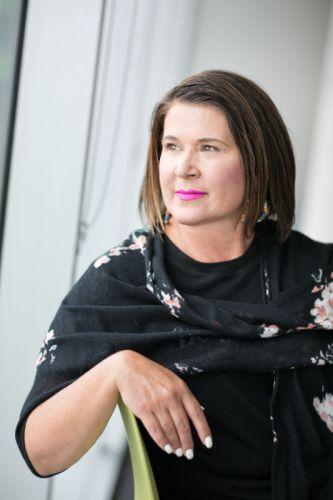 Nova Scotia born author Janice Landry