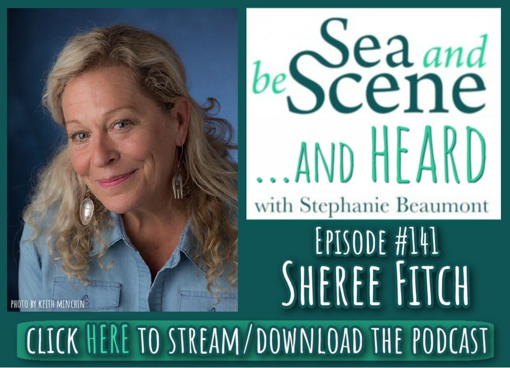 click here to stream or download podcast with Sheree Fitch