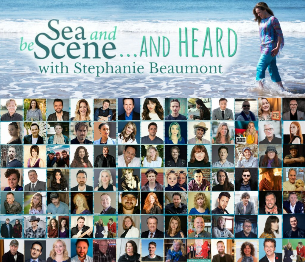 SEA AND BE SCENE And HEARD just a few of our guests so far
