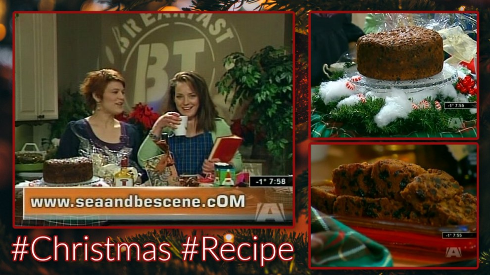 Classic Christmas Recipe Dark Fruit Cake