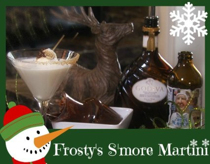 Frosty's S'More Martini