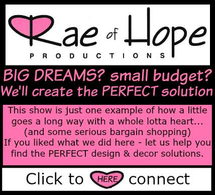 Rae of Hope Makeover inquiry