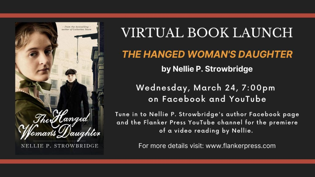 VIRTUAL BOOK LAUNCH for _The Hanged Woman's Daughter_ details