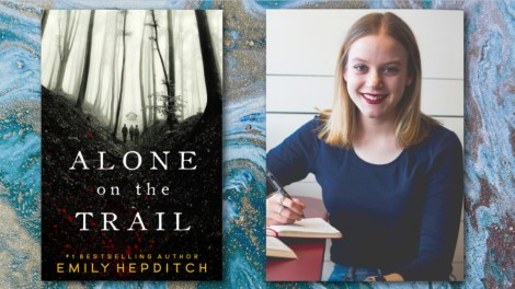 Alone on the Trail by Emily Hepditch