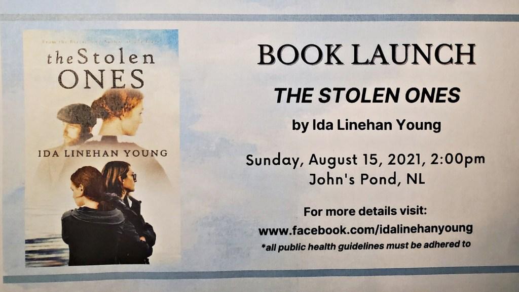 BOOK LAUNCH The Stolen Ones