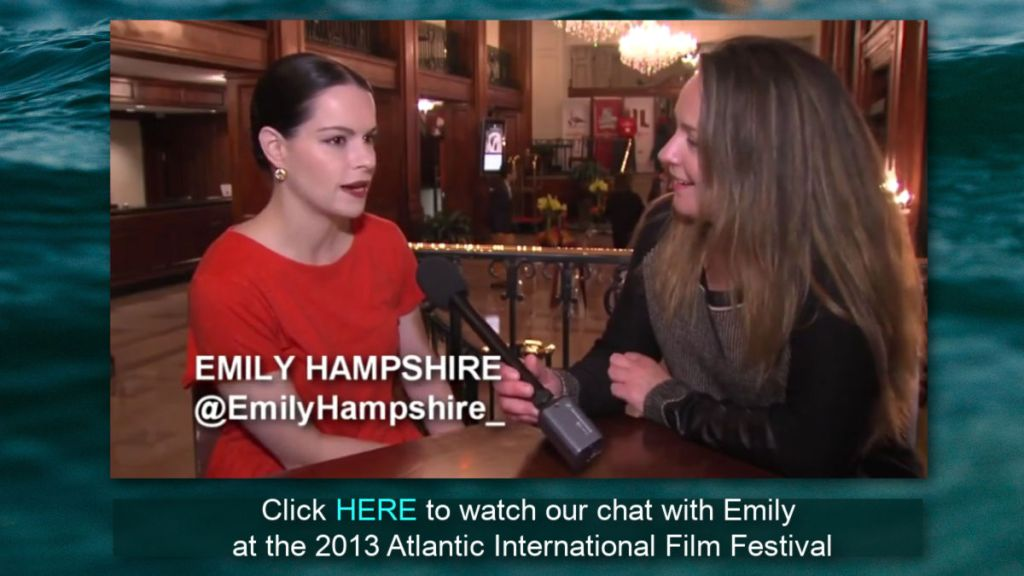 watch Stephanie Beaumont interview Emily Hampshire at the 2013 AFF