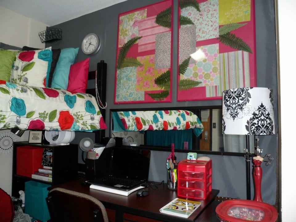 Decadent Dorm Desk Decor