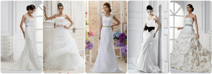 tidebuy wedding gowns, cheap, affordable, bow tie around the waist