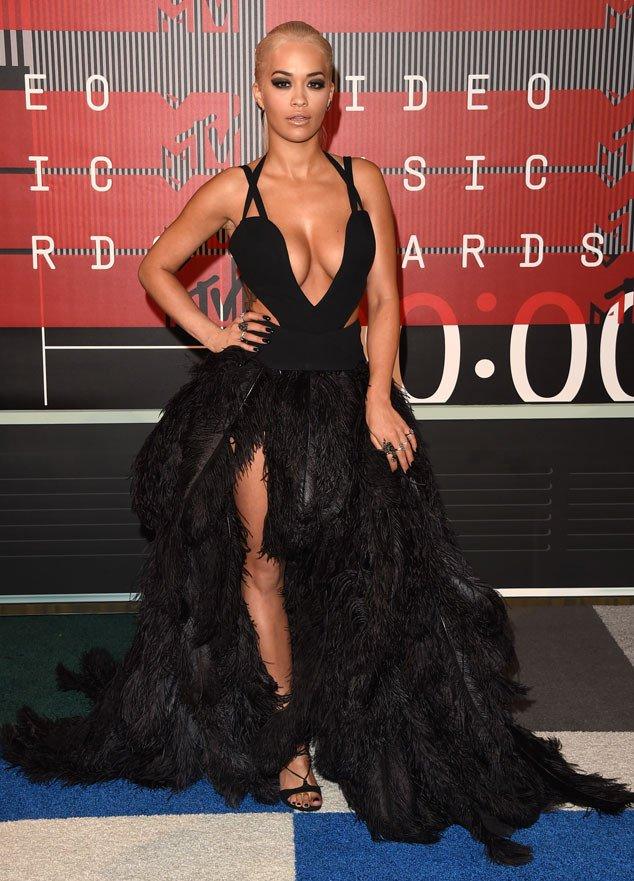RITA ORA,GIGI HADID, MTV VMA, Best Dressed, 2015 MTV VMAs Red Carpet Best Dressed