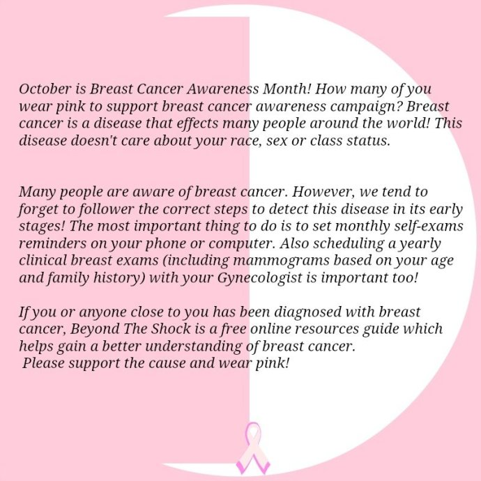Breast Cancer Awareness: What Should You Do