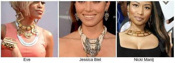 statement necklace celebs, How To Wear A Statement Necklace