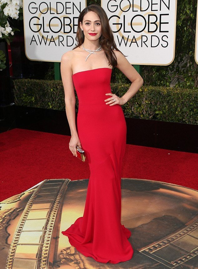 emmy rossum, 2016 Golden Globes Winner