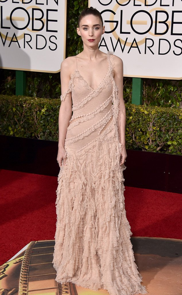 2016 Golden Globes Winner, rooney-mara