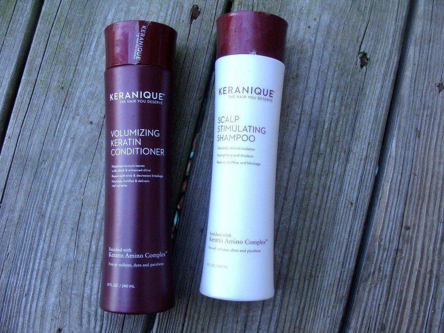 Impressive Products, Keranique Volumizing Shampoo and Conditioner