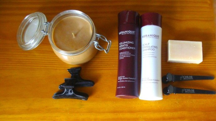 Impressive Products, Keranique Volumizing Shampoo and Conditioner,
