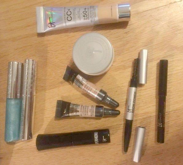it Cosmetics travel bag,  Mini Travel Items