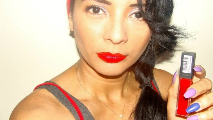 Maybelline Rebel Red, Vivid Matte Liquid