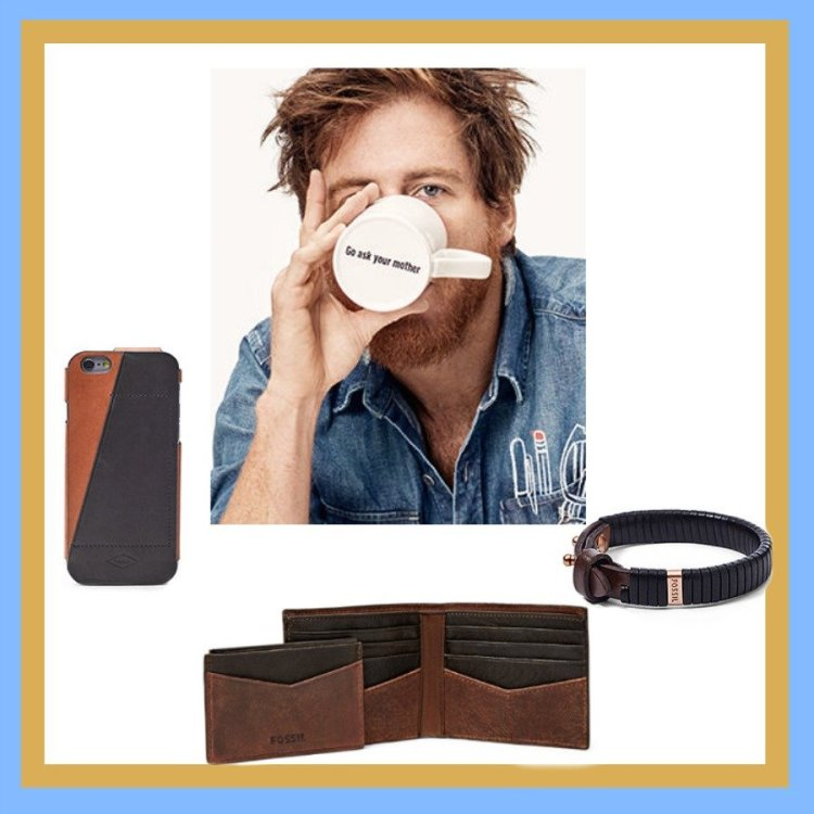 fossil, What Fathers Really Want On Father's Day: Gifts Under $50.00